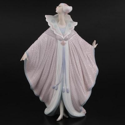 """Lladró """"Quione"""" Porcelain Figurine Designed by Regino Torrijos"""