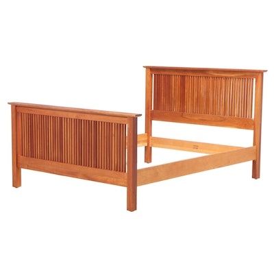 """Harden Furniture """"Natural Transitions"""" Cherrywood Queen Size Bed Frame"""