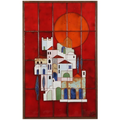 Glazed Tile Assemblage of Spanish Colonial Village