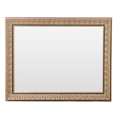 Carolina Mirror Company Giltwood and Composition Overmantel Mirror