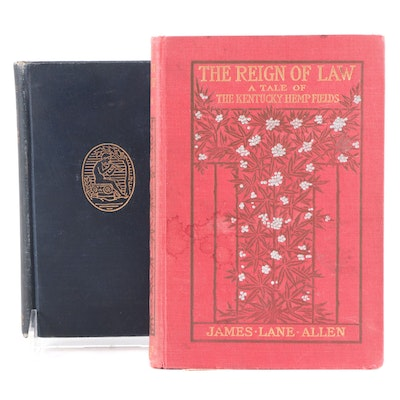 """Second Printing """"The Reign of Law"""" and More, Early 20th Century"""