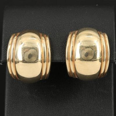 14K Italian Gold Earrings