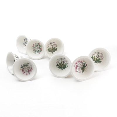 "Portmeirion ""Botanic Garden"" Ceramic Footed Bowls"
