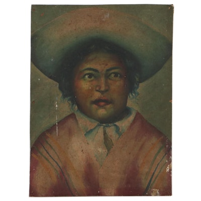 Oil Portrait, Early 20th Century