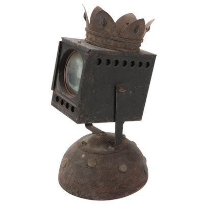 Jon Scharlock Mixed Media Found Object Sculpture