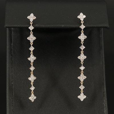10K 0.30 CTW Diamond Earrings