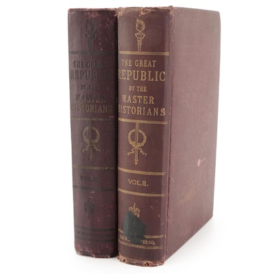 """""""The Great Republic by the Master Historians"""" Partial Set, Early 20th Century"""