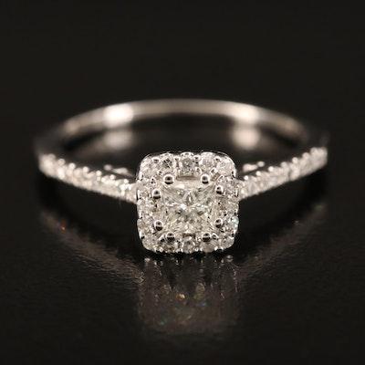 14K 0.41 CTW Diamond Ring