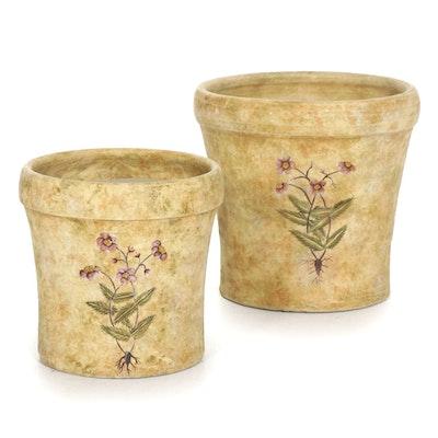 Ceramic Sun Rose Decorative Flower Pots