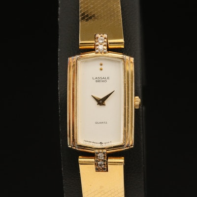 Seiko LaSalle Diamond Wristwatch