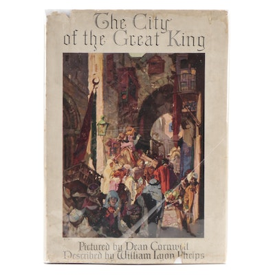 """Illustrated """"The City of the Great King"""" by William Lyon Phelps, 1926"""