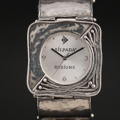 Sterling Silver Silpada Designs Wristwatch