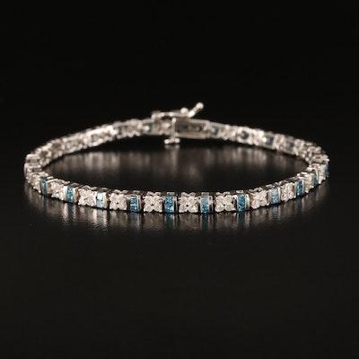 14K 3.32 Diamond Bracelet