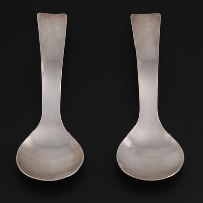 Allan Adler Sterling Silver Sugar Spoons