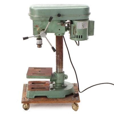 Cummins Mack Model 0010 5-Speed Heavy Duty Metal Drill Press, 1984