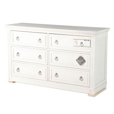 Standard Furniture Matte White Veneer Chest of Drawers