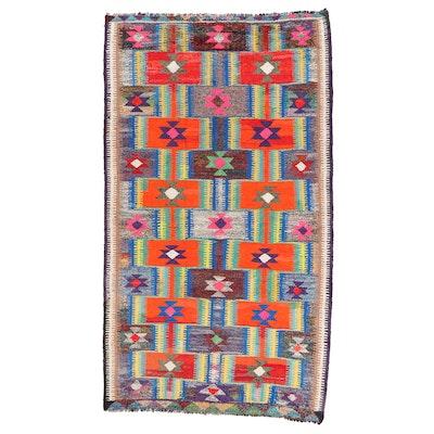 5'1 x 9' Handwoven Persian Kilim Area Rug