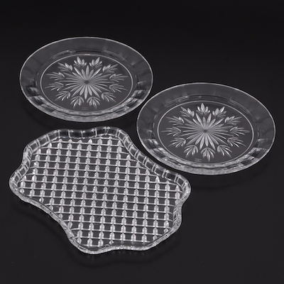 Marquis by Waterford Crystal Plates and Serving Tray