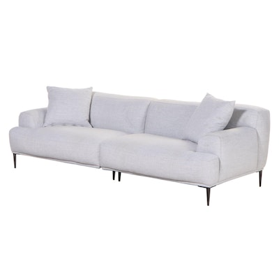 """Article """"Abisco Mist Gray"""" 2-Piece Sectional Sofa"""