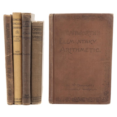 """""""Wentworth's Elementary Arithmetic"""" and More Textbooks,"""