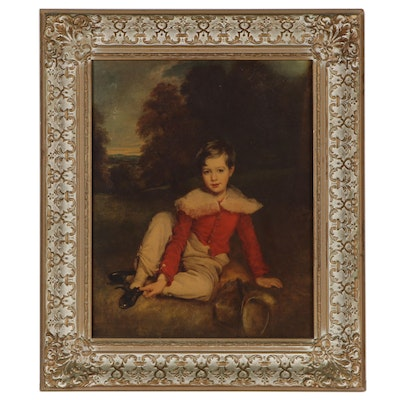 """Offset Lithograph After Thomas Lawrence """"Lord Seaham as a Boy"""""""