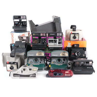 Polaroid Land Cameras and Other Instant Cameras, Mid to Late 20th Century