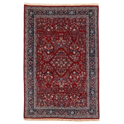 6'1 x 9'5 Hand-Knotted Persian Mehriban Area Rug