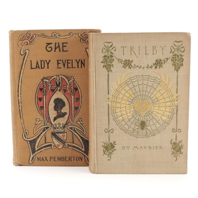 """""""The Lady Evelyn"""" by Max Pemberton and """"Trilby"""" by George du Maurier"""