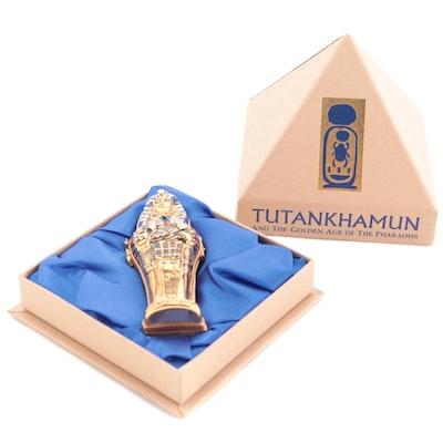 "Dubarry ""Tutankhamun"" Limited Edition Limoges Porcelain Trinket Box, 2006"