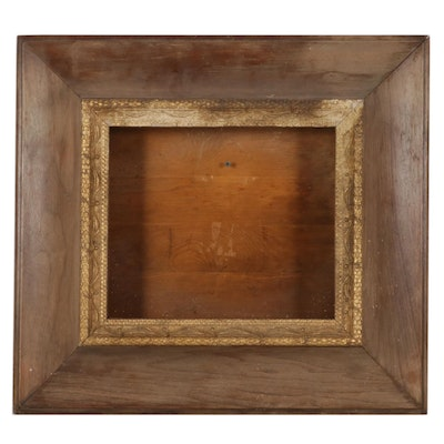 Shadowbox Frame with Carved and Gilt Detail, Early 20th Century