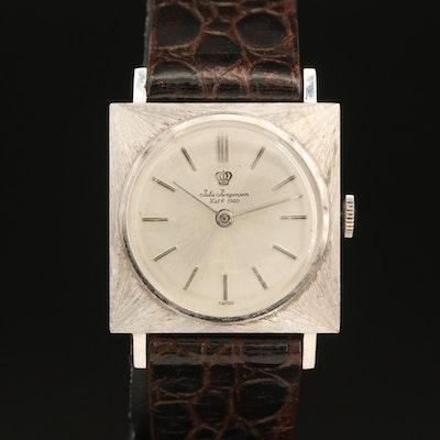 14K Jules Jurgensen Wristwatch