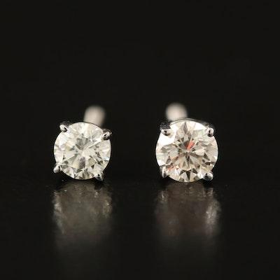 14K 0.42 CTW Diamond Earrings