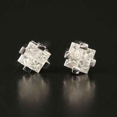 14K 0.20 CTW Diamond Earrings