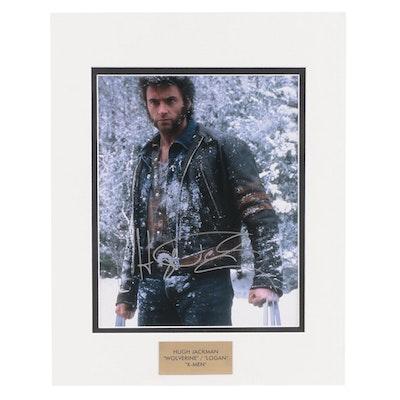 "Hugh Jackman ""Wolverine/Logan"" Signed ""X-Men"" Movie Photo Print, COA"