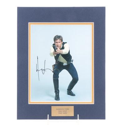 "Harrison Ford ""Han Solo"" ""Star Wars"" Movie Photo Print, COA"