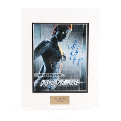 "Rebecca Romijn ""Mystique"" Signed ""X-Men"" Movie Photo Print, COA"