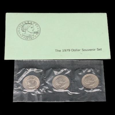 1979 Susan B. Anthony Dollar Souvenir Set