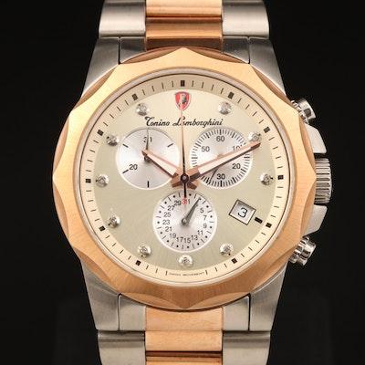 Tonino Lamborghini Diamond Swiss Made Wristwatch
