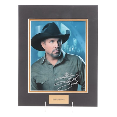 Garth Brooks Signed Country Music Singer and Songwriter Photo Print, COA