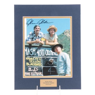 "Alan Alda ""Hawkeye Pierce"" Signed M*A*S*H Television Sitcom Photo Print, COA"