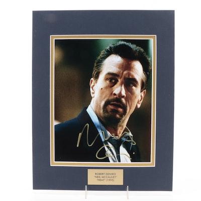 "Robert De Niro ""Neil McCauley"" Signed ""Heat"" (1995) Movie Photo Print, COA"