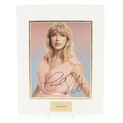 "Taylor Swift Signed Singer, Songwriter, and ""Grammy Award Winner"" Photo Print"