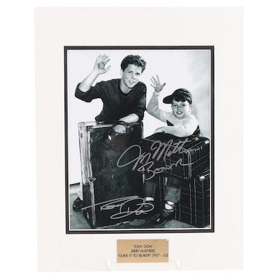 "Tony Dow & Jerry Mathers ""Leave It To Beaver"" (1957-1963) TV Sitcom Photo Print"