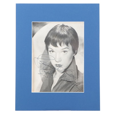 Shirley MacLaine Signed Picture in Matte