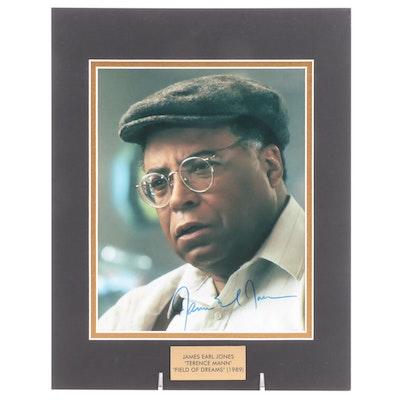 "James Earl Jones ""Terence Mann"" Signed ""Field of Dreams"" (1989) Movie Print"