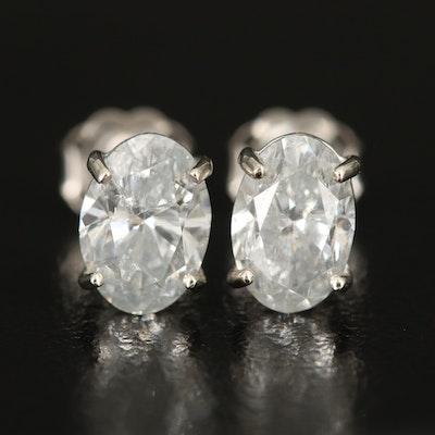 14K 2.15 CTW Diamond Stud Earrings