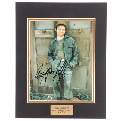 "Gary Burghoff ""Corp. Radar O'Reilly"" Signed M*A*S*H Television Photo Print, COA"