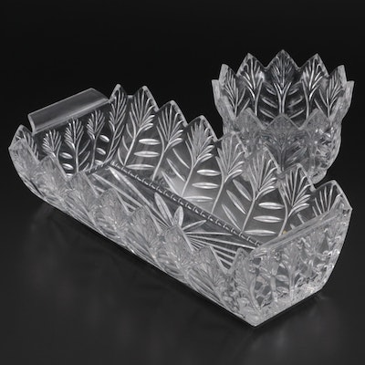 Marquis by Waterford Crystal Bread Basket and Butter Bowl