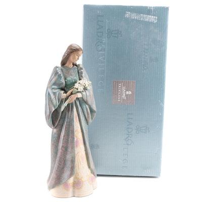 """Lladró """"Sincerity"""" Gres Porcelain Figurine Designed by Begoña Jauregui"""