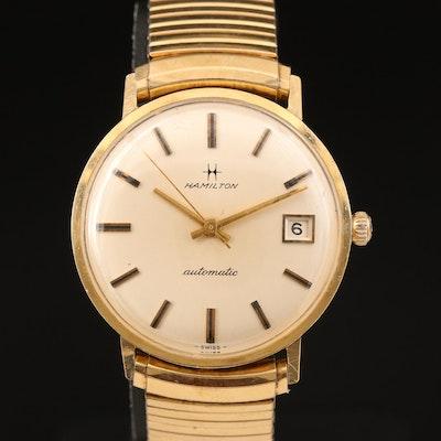 14K Hamilton Automatic Wristwatch with Date